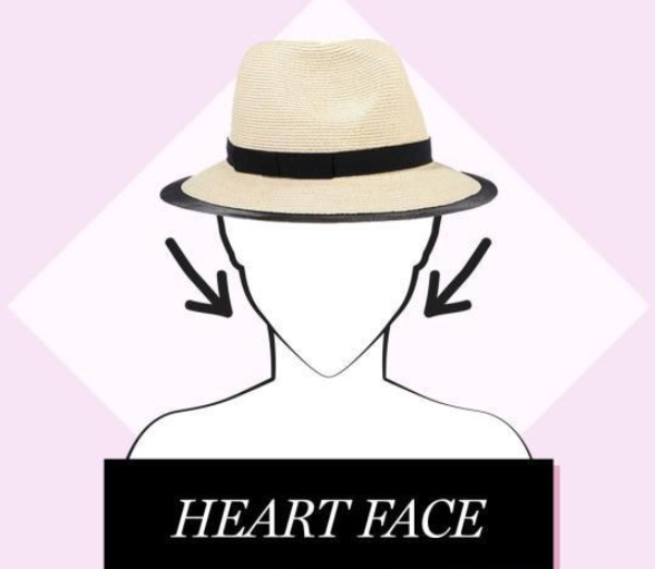 lady heart face