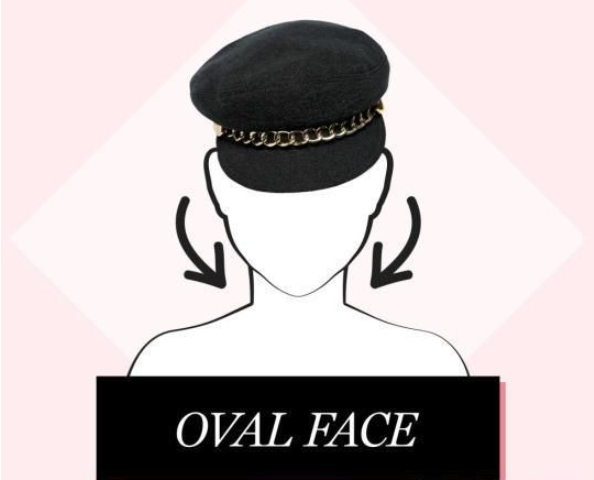 lady oval face