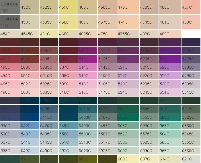 Pantone Sheet Gungozq Eye